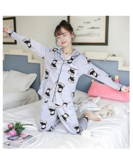 Women Cartoon Print Cute Nightwear