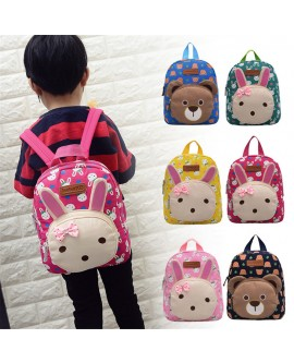 Cartoon Canvas Children Backpack