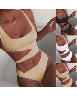 One-piece Sexy Bikini Women Fitness Swimwear