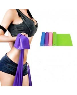 Elastic Yoga Pilates Rubber Stretch Fitness Band Sets