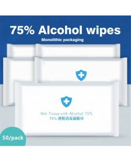 75% Alcohol Swabs Wipes Antiseptic Disinfection individually packed